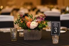 IMG_8510 (FestivitiesMN) Tags: centerpiece floral silveretchedvase mercury votive