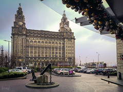 Royal Liver Building, Liverpool, UK (KSAG Photography) Tags: liverpool merseyside england architecture history heritage building december 2019 christmas europe britain uk unitedkingdom city urban hdr huawei