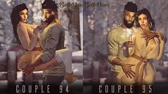 @PoseFair (Antonia Millar / BellePoses) Tags: posefair couples cute winter new year bento belleposes sl second life