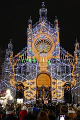 Eglise Sainte-Catherine (CORMA) Tags: belgique belgium bruxelles brussels church eglise saintecatherine lightingshow spectacledéclairage 2019 décembre december