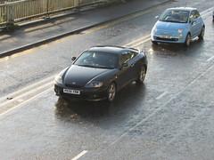 Hyundai Coupe SE (Andrew 2.8i) Tags: uk classics classic wales kingdom united streetspotting cars car street spotting carspotting korean sports sportscar se tiburon gk coupe hyundai