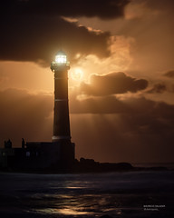 Cold Moon and the lighthouse (astropolo_) Tags: moon full lighthouse fujifilm clouds cloudscape ocean reflecion beach sky light reflection water rocks uruguay southamerica travel seascape