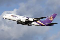 HS-TUA_AirbusA380-800_ThaiAirways_LHR (Tony Osborne - Rotorfocus) Tags: airbus a380 a380800 thai airways international london heathrow airport 2019 lhr