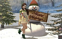Happy Holidays! ~ Charmed @ Twe12ve!!! (KoreRae Starfall (Art & Soul Photography)) Tags: charmed twe12ve evilbunny ebp dress fashion sl secondlife slfashion womensfashion hud maitreya belleza slink alice legacy december christmas holiday happyholidays naileddown collar chained heart infinity suxue zuri littlefish blaxium zombiesuicide nevrose hec alaskametro magika ascendant swallow sinfulneeds catwa glamaffair deperlaposes inkme backdropcentral