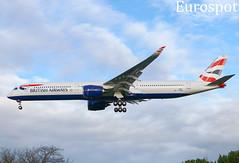 F-WZNR Airbus A350-1000 British Airways (@Eurospot) Tags: fwznr airbus a350 a3501000 britishairways toulouse blagnac gxwbd