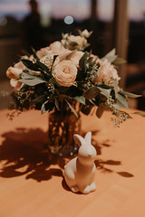 Wedding at Pinstripes (FestivitiesMN) Tags: floral wedding ceremony reception bride groom bridal party centerpiece candles