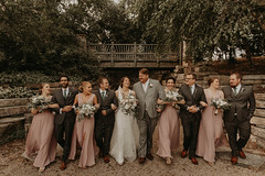 Wedding at Pinstripes (FestivitiesMN) Tags: floral wedding ceremony reception bride groom bridal party organic bouquets
