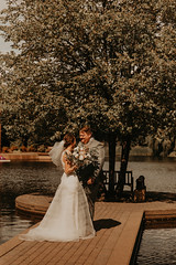 Wedding at Pinstripes (FestivitiesMN) Tags: floral wedding ceremony reception bride groom bridal party organic bouquet