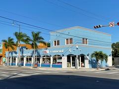 Old Retail Calle Ocho 1930 (Phillip Pessar) Tags: building architecture 1930 little havana calle ocho miami pharmacy drug store