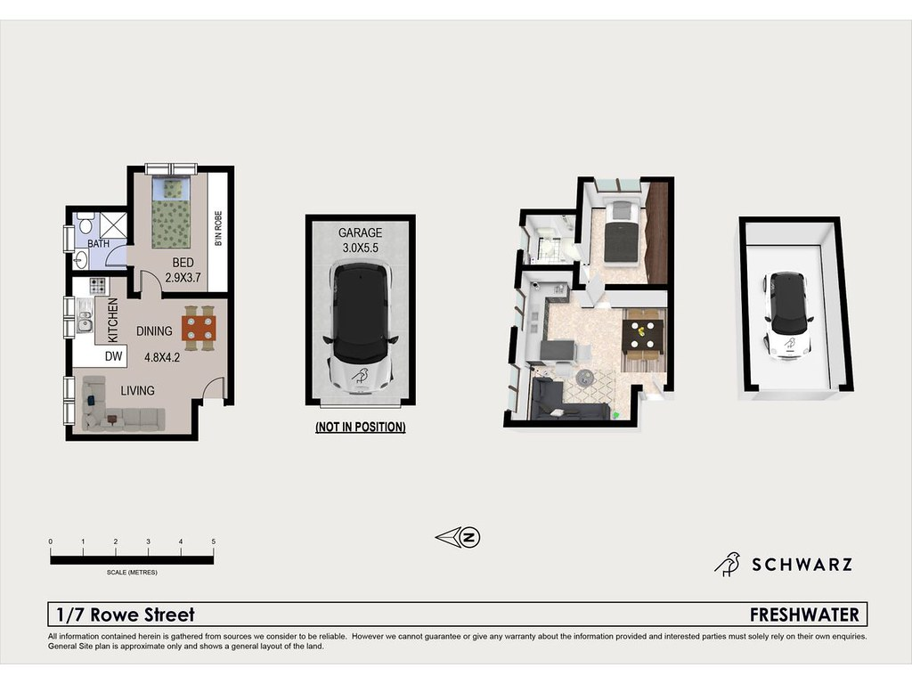 1/7 Rowe Street, Freshwater NSW 2096 floorplan