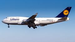 Boeing 747-430 D-ABVZ Lufthansa (William Musculus) Tags: fraport frankfurt am main rhein frankfurtmain fra eddf airport flughafen spotting aviation plane airplane william musculus dabvz lufthansa boeing 747430 747400 lh dlh