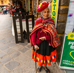 0164_untitled_620918-Edit (Deb Schillbach) Tags: green peru travel colors people street market cooking weaving texture abstract alpaca animal ladies andean food textile building flowers window hats pattern corn smile photography canon cusco