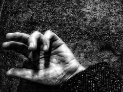 I forgive you _ (RoS_Roll over Shape_) Tags: life manoespressione hand bw
