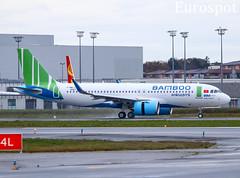 F-WWIY Airbus A320 Neo Bamboo Airways (@Eurospot) Tags: bambooairways airbus a320 toulouse blagnac vna599 9457 fwwiy neo a320251n