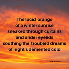 Lucid Orange (Steve Nimmons | Author) Tags: stevenimmons orange lucid dream poem quote poet poetry writer writing author creative