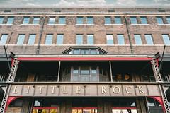 Union Station (EV Fstop) Tags: unionstation downtown urban littlerock train depot nikon z7 nef raw lr arkansas 2019 usa brick metal rivets signage