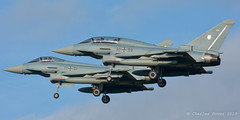 EF2000  30+99, 31+01  TLG-31 - German AF (C.Dover) Tags: 3099 norvenich tlg31 germanaf luftwaffe geraf ef2000 3101 eurofighter typhoon