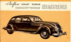 The Great New Chryslers for 1935 (Jasperdo) Tags: brochure pamphlet chrysler automobile car vehicle airfloweight sedan