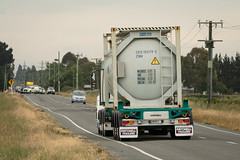 North end of a south bound truck and trailer (347/365) (johnstewartnz) Tags: 347365 day347 truck trailer tankcontainer poundroad onephotoaday oneaday onephotoaday2019 365project project365 7dmarkii 7d2 7d canon7dmarkii canoneos7dmkii canoneos7dmarkii 70200 70200mm 70200f28 70200mmf28 ef70200f28lisusmiii canonef70200f28lisusmiii canon canonapsc apsc eos 100canon