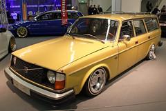 245 (Schwanzus_Longus) Tags: essen motorshow german germany sweden swedish old classic vintage car vehicle station wagon estate kombi combi volvo 245 dl