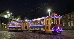 1376 MTUB NOËL (brossel 8260) Tags: belgique bruxelles tram stib mtub