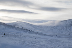 Cloud over Lower Northern Corries (StickyToffeeQueen) Tags: northerncorries cairngormsnationalpark snow mountains cloud