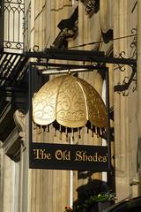 Old Shades, London SW1. (piktaker) Tags: london londonsw1 sw1 pub inn bar tavern pubsign innsign publichouse oldshades