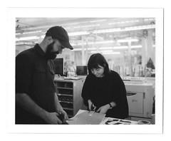 Ryan Johnson and Elana Schlenker (scottboms) Tags: dir arl analogresearchlab facebook printmaking risograph polaroid npc195 analog film instantfilm menlopark california
