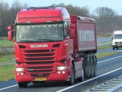 Scania R450 highline tipper from Kanters Holland. (capelleaandenijssel) Tags: 75bgj3 truck trailer lorry camion lkw netherlands nl