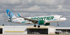 A320 | N326FR | FLL | 20191107 (Wally.H) Tags: airbus a320neo a320 a320n n326fr frontierairlines fll kfll fortlauderdale hollywood airport