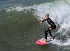 Memories of Summer (Ron Drew) Tags: nikon d850 huntingtonbeach california surfcity ocean pacific wave surfer athlete youngman wetsuit skill balance water summer usa