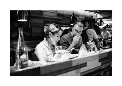 Hunger_Barcelona (Koprek) Tags: kodaktrix 400 film analog barcelona market spain 135mm streetphotography stphotographia stphotography konicahexaraf reportage