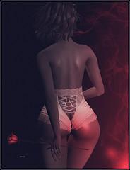 """The Time has come"" (ÐÃŕķ.Mέţίşşε) Tags: art body maitreya asteria lingerie pink artistic creation effect light smoke girl woman sensual erotisme doll story photo photoshop music blues second life sl picture ðãŕķ mέţίşşε color texture grain romance"