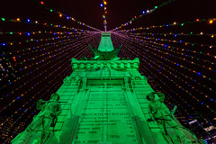 Soldiers and Sailors Monument at Christmas (janedsh) Tags: circle indianapolis indiana lights downtown statue monument soldiers sailors places marion county photo by jane holmanphotoscom marioncounty photobyjane soldiersandsailorsmonument