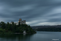 Niedzica castle (MWojciechowski Foto) Tags: castle castillo building architecture history historical view long longexposure exposure sky clouds cloud cloudy skyline blue bluesky dark contrast highcontrast trees lake water outdoors scene scenery