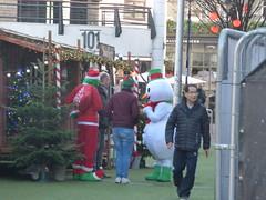 Christmas in Southside on Hurst Street - Santa's Grotto (ell brown) Tags: christmasinsouthside hippodromesquare southside birmingham westmidlands england unitedkingdom greatbritain chinesequarter birminghamchinatown hurstst santasgrotto southsidebirminghamevents snowman