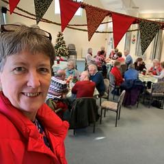 348 2019 coffee morning at the village hall (Margaret Stranks) Tags: 348365 365days 2019 bunting christmas queningtonvillagehall coffeemorning