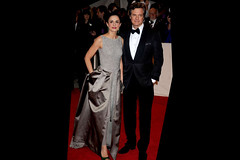 Colin Firth and Wife jpg (Gentleman Cat Burglar) Tags: marion cotillard vivienne westwood gown cannes film festival chopard jewels palme dor trophy the bling ring teenage burglars who robbed hollywood homes celebrities best actor actress awards colin firth divorce marriage wedding reception