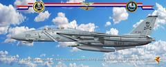 f-14  JOLLY ROGERS Desert Storm publ (gaucho_59) Tags: warplanes profiles f14 desert storm cvn71