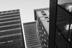 Des Moines (mfhiatt) Tags: img83501119 architecture lookingup downtown urban urbanlandscape desmoines iowa blackandwhite