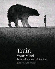 ❝ Train your mind… (iQuotes) Tags: quotes iquotes sayings inspirationalquotes lifequotes lovequotes positivequotes wisdom motivational motivation life love inspirational inspiration positive quote vibes notes selfnote
