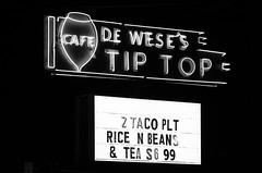 De Wese's Tip Top Cafe (dangr.dave) Tags: sanantonio tx texas downtown historic architecture neon neonsign dewiesestiptopcafe deweisestiptopcafe taco bean rice tea dewesestiptopcafe