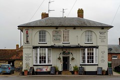 Hanslope, Watts Arms (2019) (Dayoff171) Tags: boozers buckinghamshire england europe gbg2020 pubs publichouses gbg greatbritain uk unitedkingdom