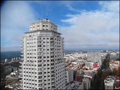 Madrid (Spain) (sky_hlv) Tags: hotelriuplazadeespaña observationdesk mirador rascacielos skyline skyscraper skyscrapers panoramicview panorámica panoramic madrid españa spain europe europa city ciudad capital