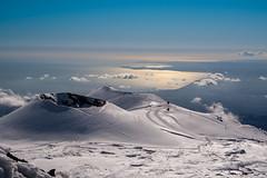 Cratere del Laghetto (Etna) (Martin Stelter) Tags: steine nebel berge meer motiv winter landschaft lenstagger nicolosi provinzcatania italien etna crater lava