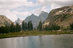 Lake Solitude (szmenazsófi) Tags: smenasymbol lomo smena outdoor nature teton grandteton grandtetonnationalpark tetons lakesolitude alpine mountains hike hiking lake landscape 35mm film