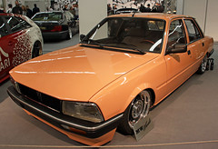 505 (Schwanzus_Longus) Tags: essen motorshow german germany old classic vintage car vehicle french france sedan saloon peugeot 505