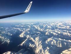 Back home, flying over the Alps (En memoria de Zarpazos, mi valiente y mimoso tigre) Tags: fliying vuelo volando avión desdeelavión alpes