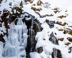 Myrtle Falls (rich trinter photos) Tags: mountrainiernationalpark winter ashford washington unitedstatesofamerica myrtlefalls mountains landscape trinterphotos northwest edithcreek