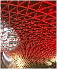 King's Cross (nikon_13) Tags: inspector ticket gate subway underground tunnel train king's kings cross station railway christmas